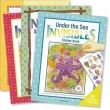 "Set of 4 ""Invisibles"" Sticker Books"