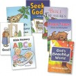 "Set of 7 ""Mary Currier"" Mini Activity Books"