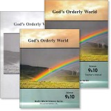 "Grade 9 and 10 Science ""God's Orderly World"" Set"