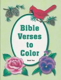 Bible Verses to Color Book Two - Mottoes Coloring Book