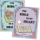"Set of 2 ""The Bible in My Heart"" Coloring Books"