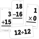 Math Flash Cards (Personal Size) - Set of 2