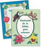 Versículos de la Biblia para colorear en conjunto [Bible Verses to Color]