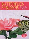 Butterflies and Blooms - Mini Coloring and Activity Book