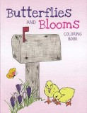 Butterflies and Blooms - Coloring Book