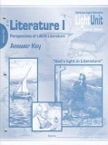 DISCOUNT - Literature I - Perspectives of Life in Literature - (2009) Answer Key 6-10