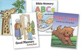 "Set of 4 ""Mary Currier"" Mini Activity Books"