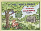 Home Sweet Home Coloring Calendar