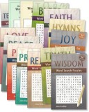 Set of 9 Word Search Puzzle Books